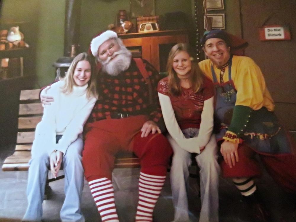 The final photo taken with Santa Claus.