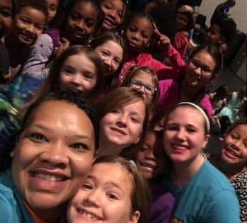 Volunteering at Passion Church in Big Kids (Grade 1-5). 2015.