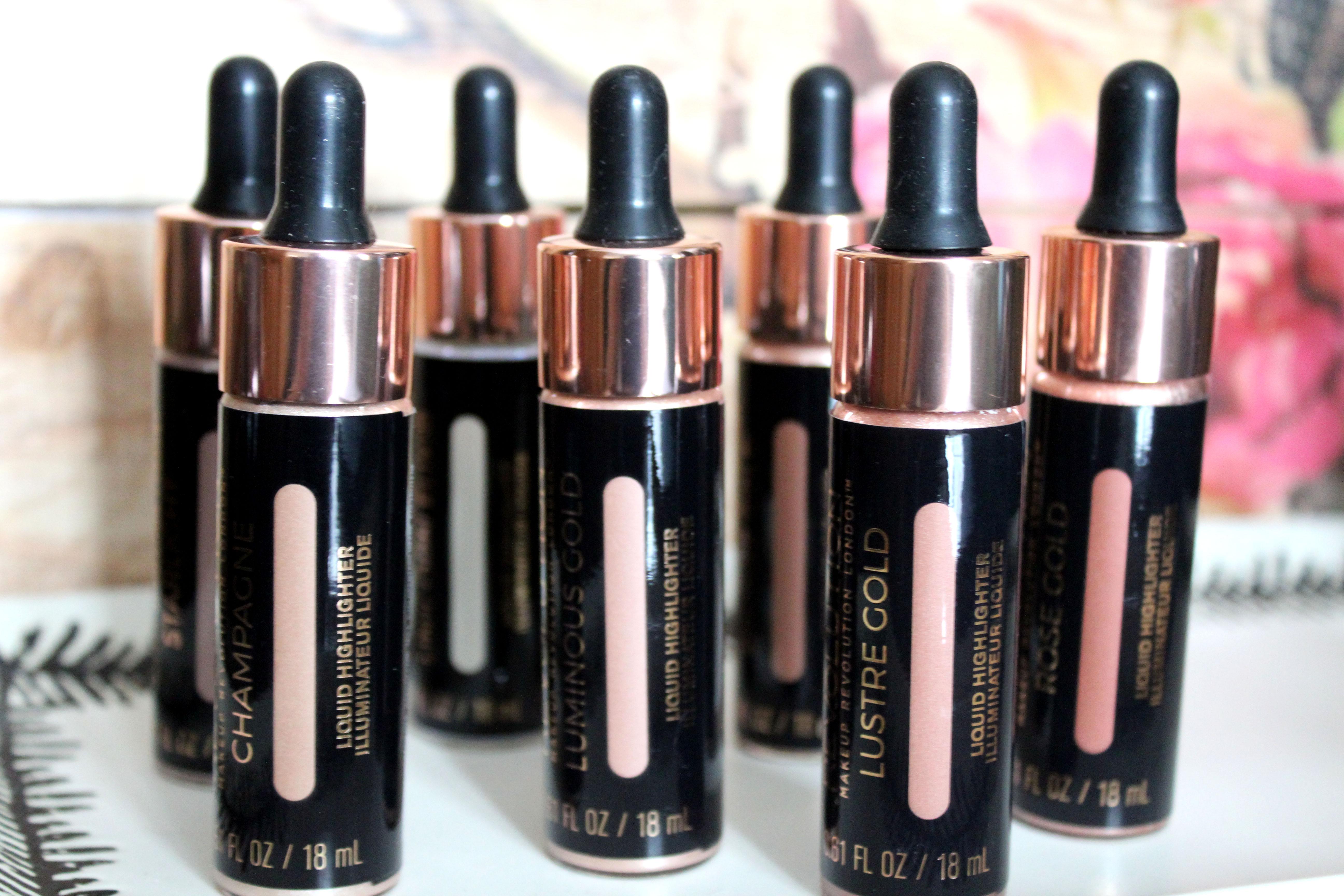 Makeup Revolution Liquid Highlighters