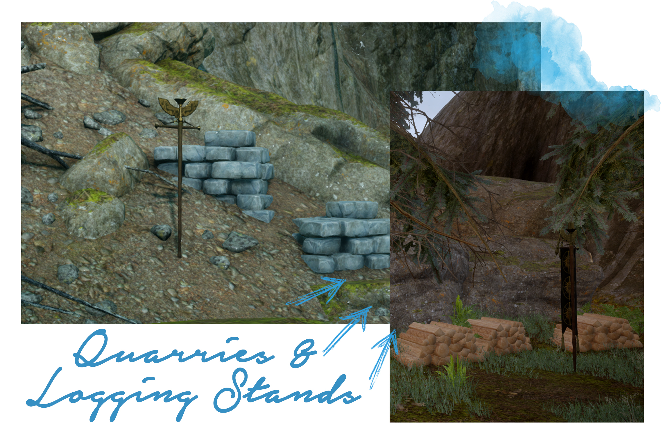 Quarry and Logging Stands