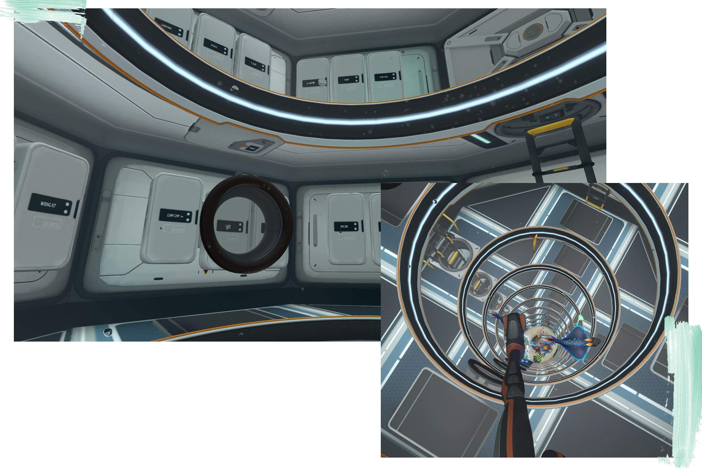 Subnautica Tour Of My Main Base Mae Polzine Built a scanner room and hatch and solar panels where the hatch is positioned to avoid conflicts. subnautica tour of my main base mae