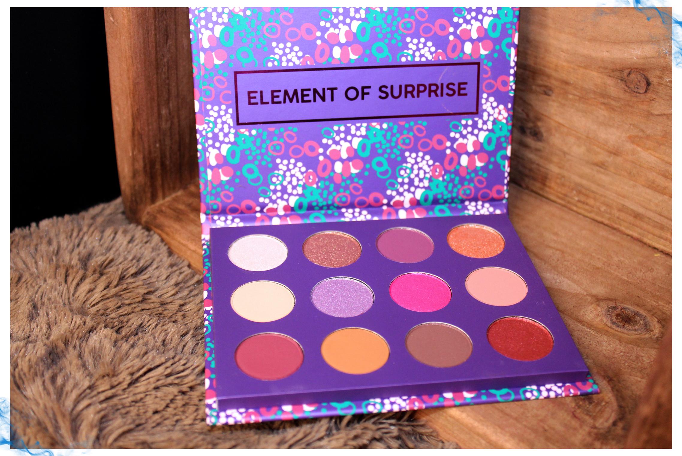 Element of Surprise ColourPop Palette