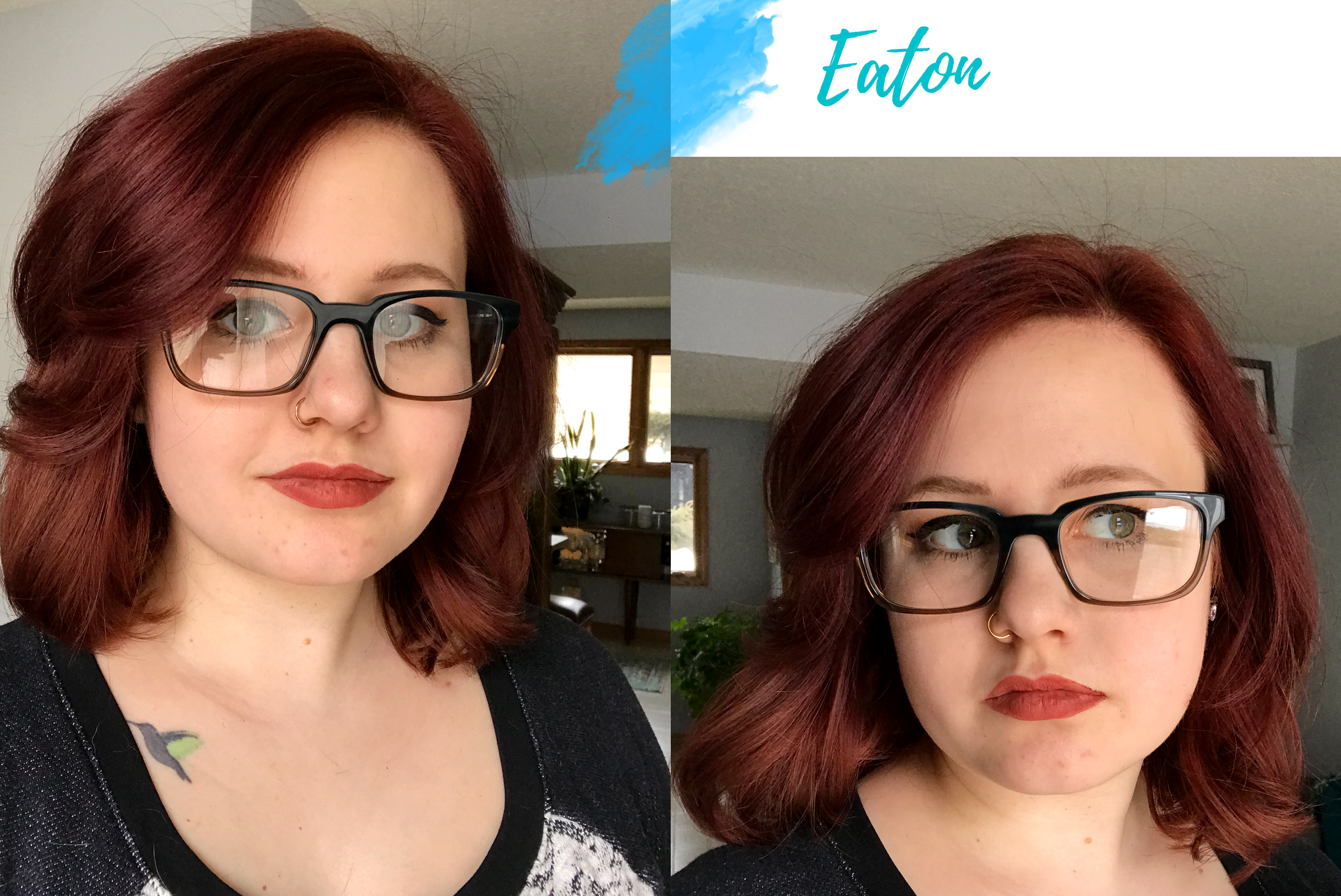 Warby Parker Eaton glasses