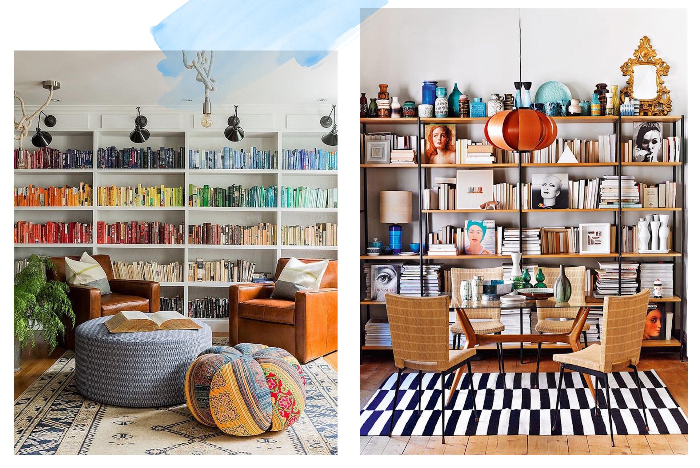 Inspiring Home Library