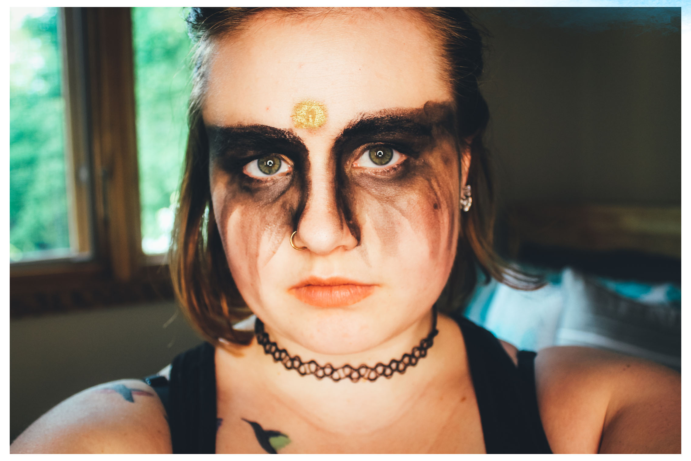 The 100 Grounder Inspired Makeup Mae Polzine 1