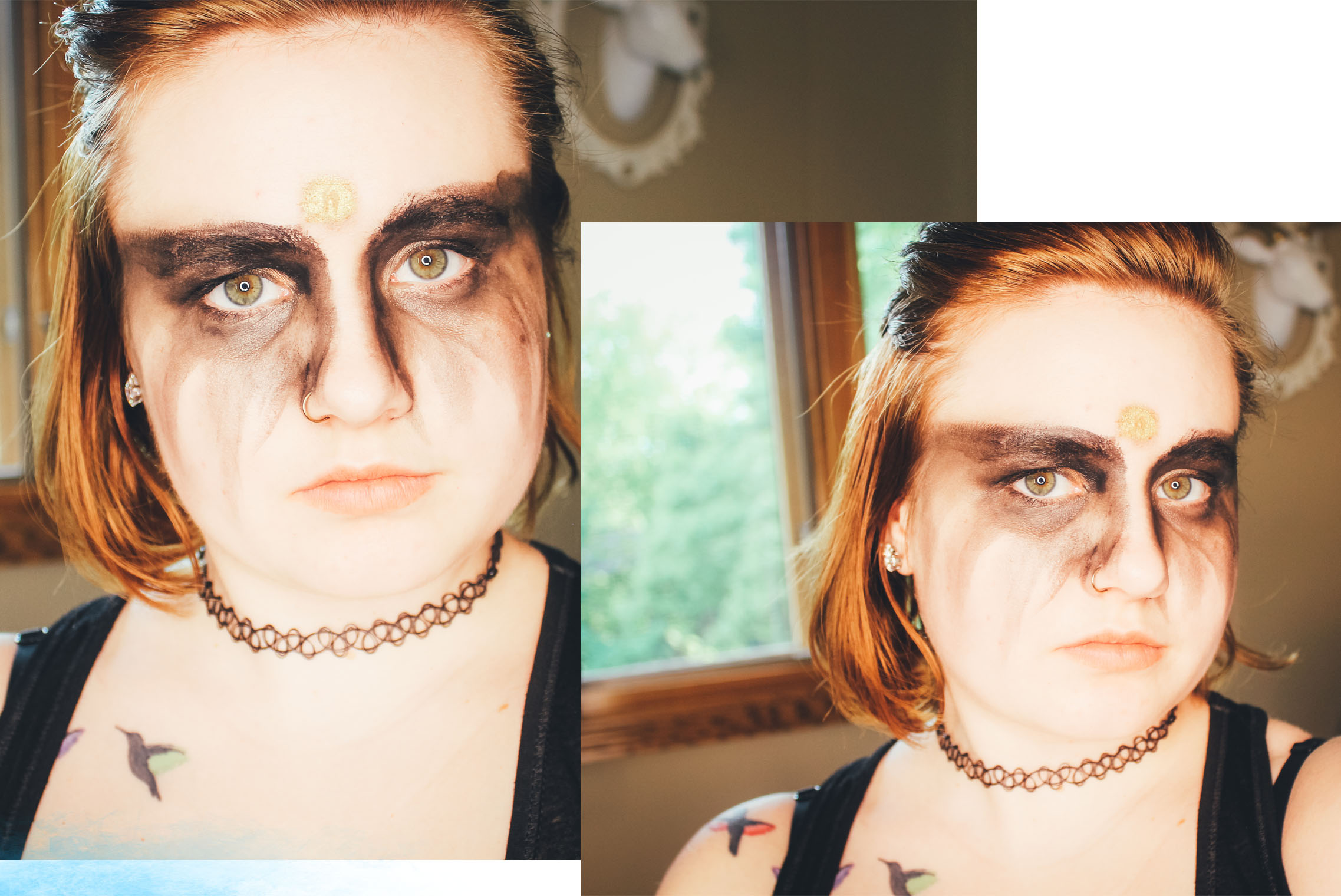 The 100 Grounder Inspired Makeup Mae Polzine 2