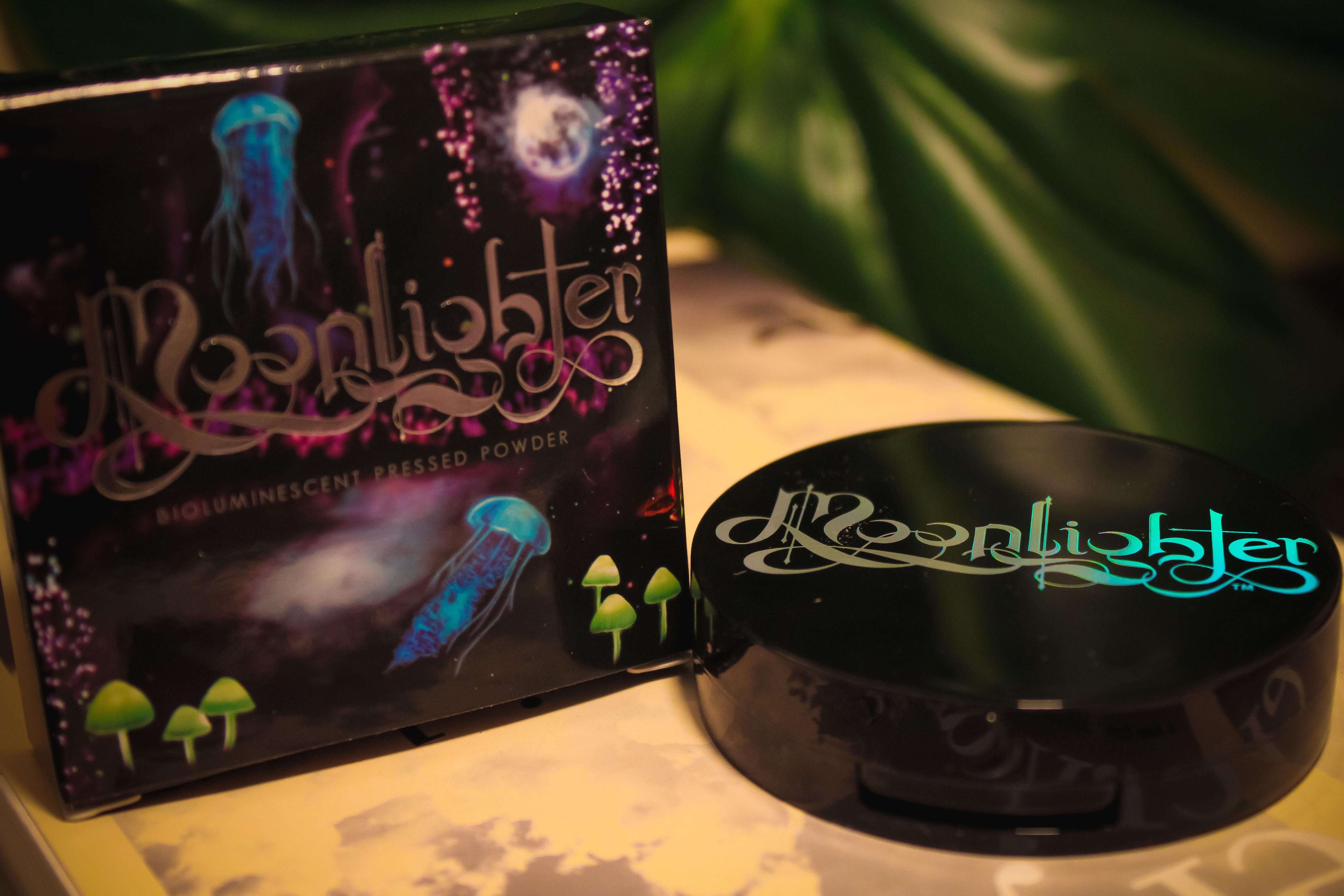 Black Moon Cosmetics Moonlighter Pressed Powder