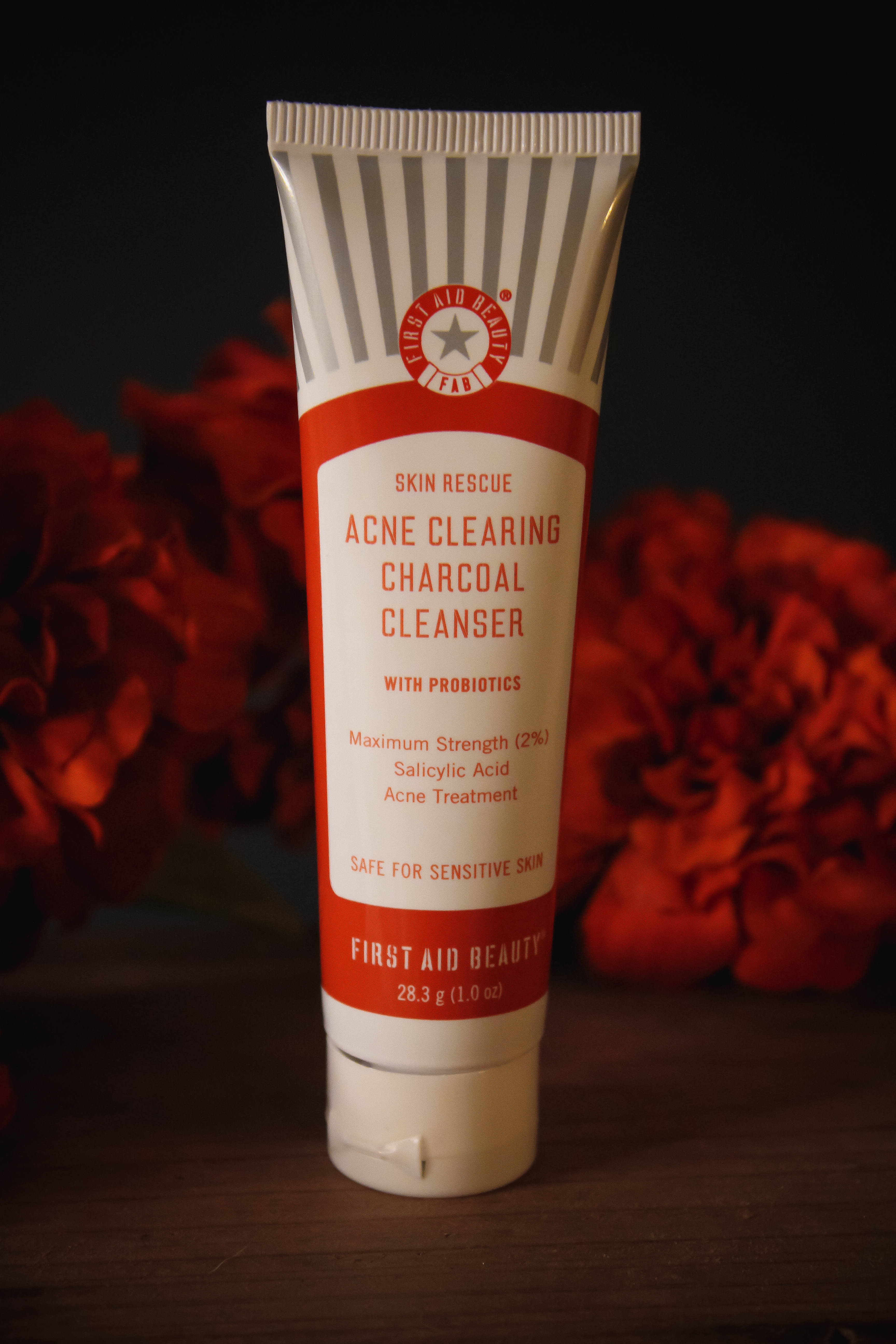 First Aid Beauty Skin Rescue Acne Clearing Charcoal Cleanser