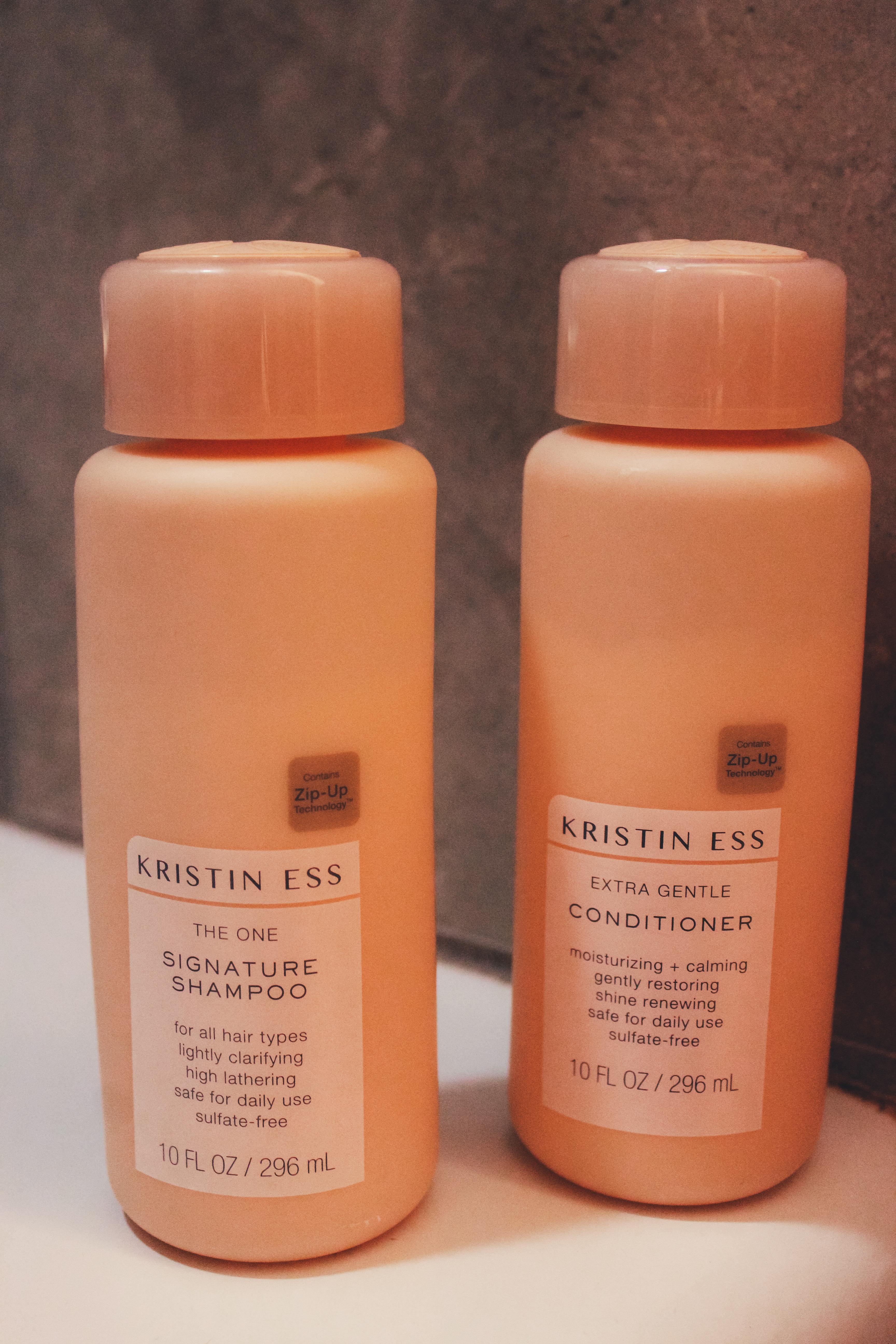 Kristin Ess Shampoo and Conditioner