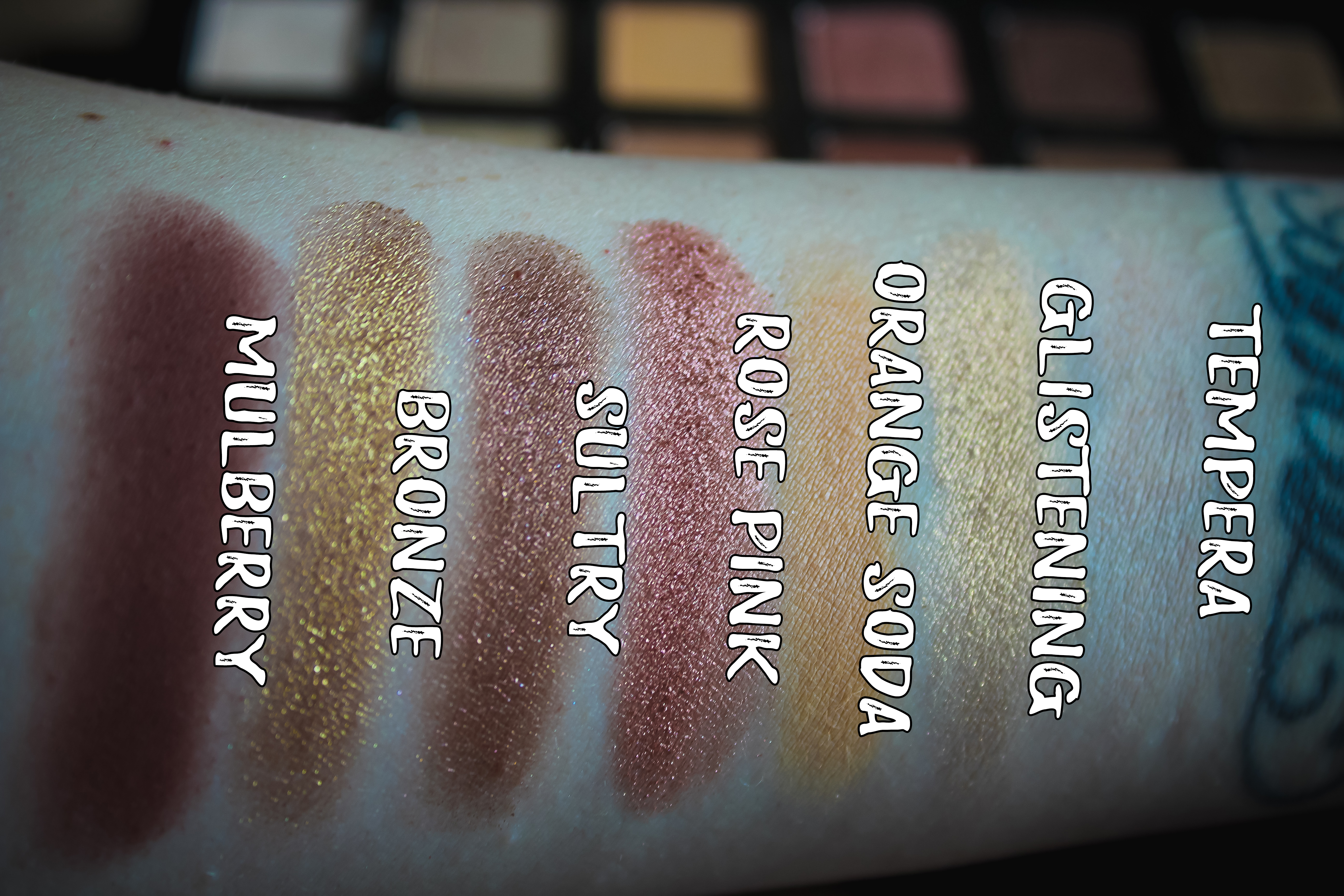 ABH Soft Glam Swatches 1