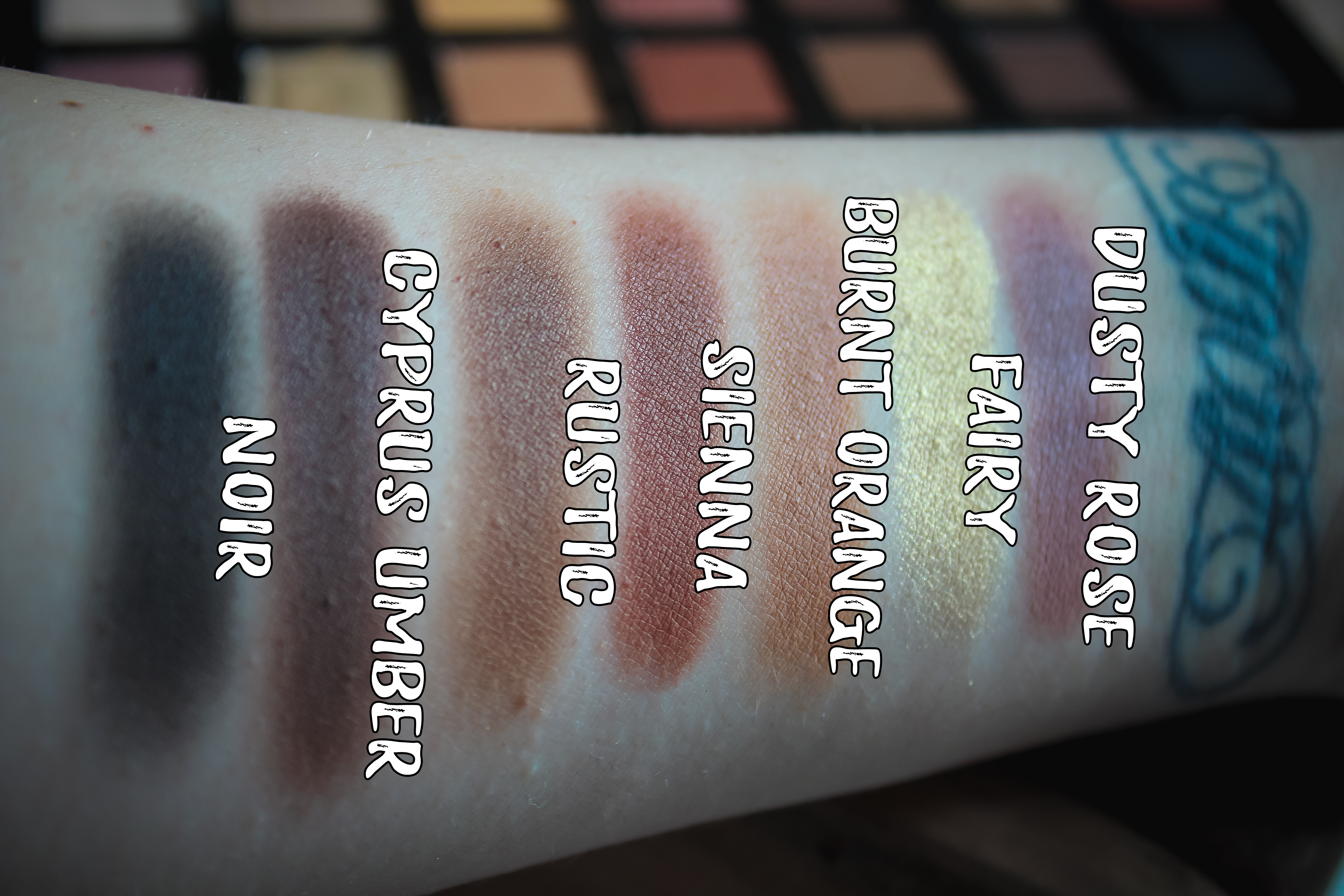 ABH Soft Glam Swatches 2