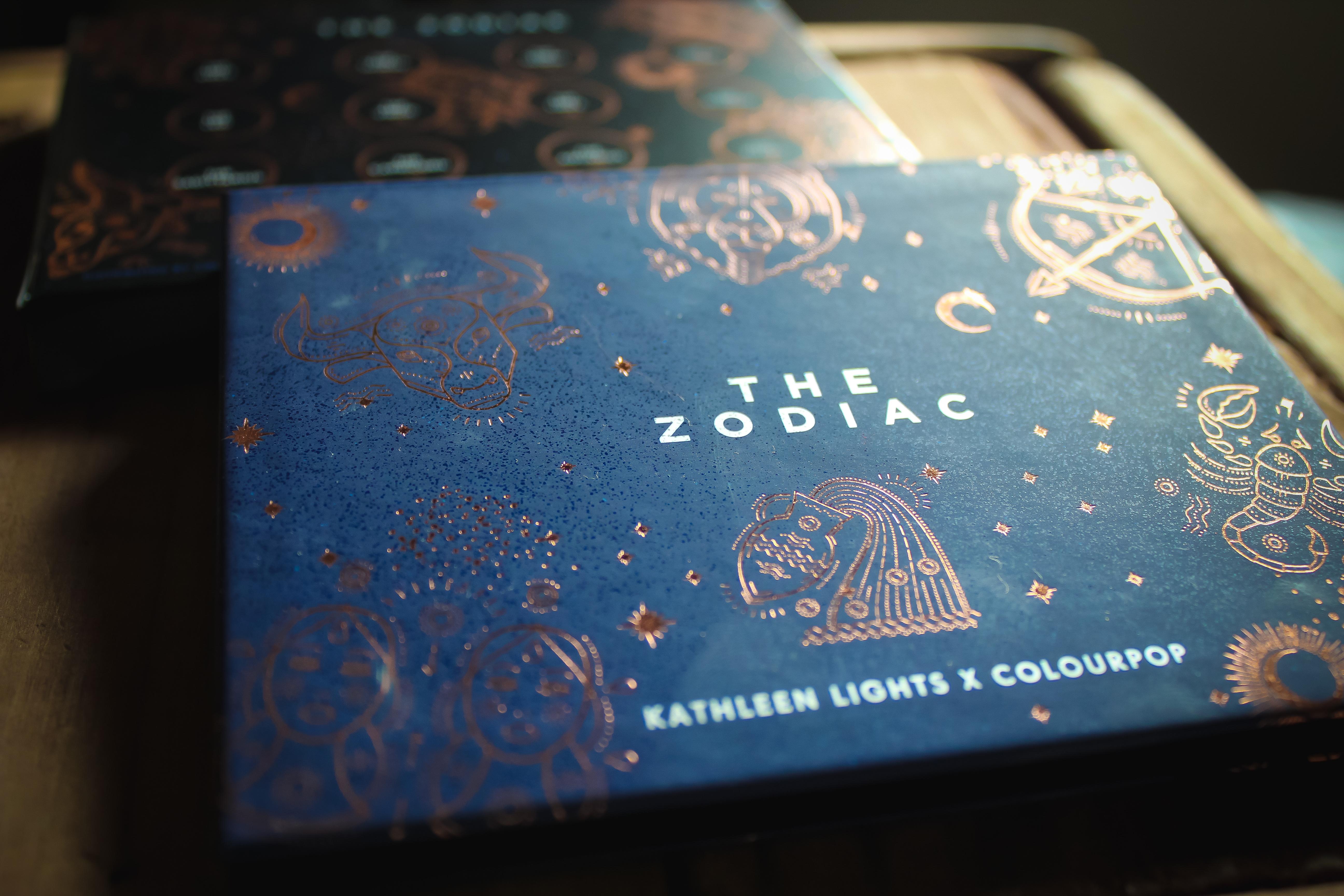 ColourPop x Kathleen Lights The Zodiac Palette