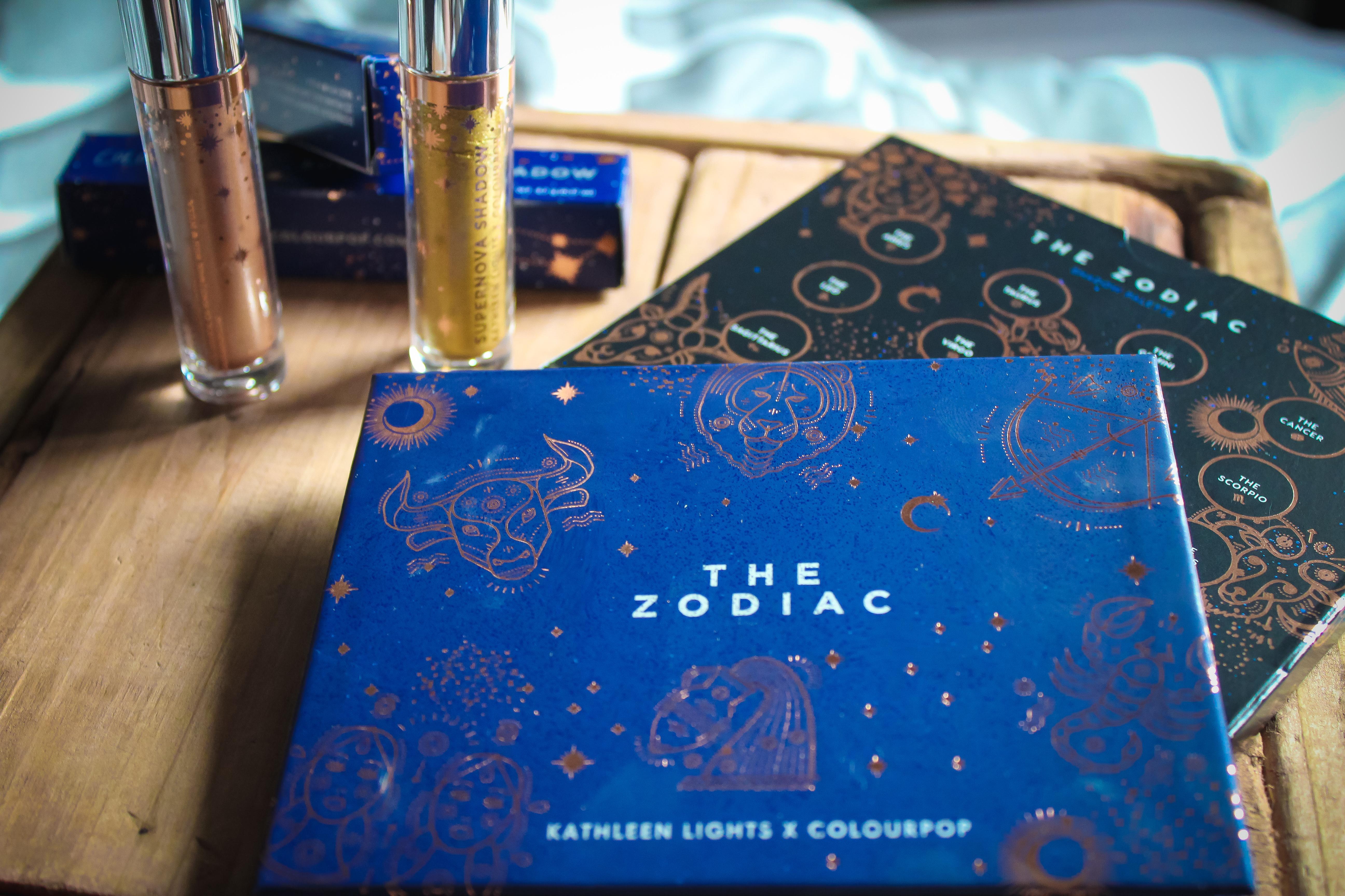 ColourPop x Kathleen Lights Zodiac Collection