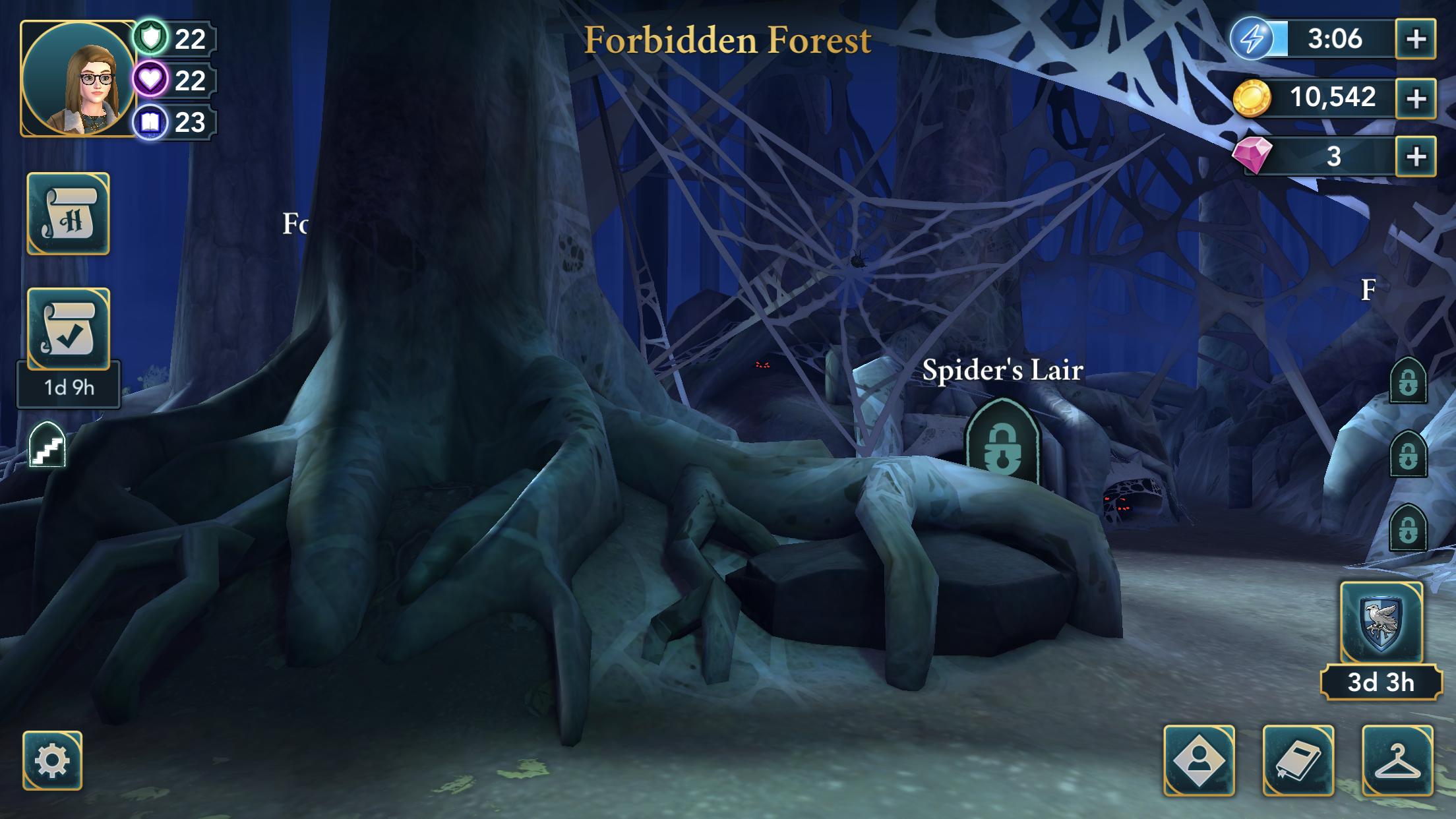 Hogwarts Mystery Spider