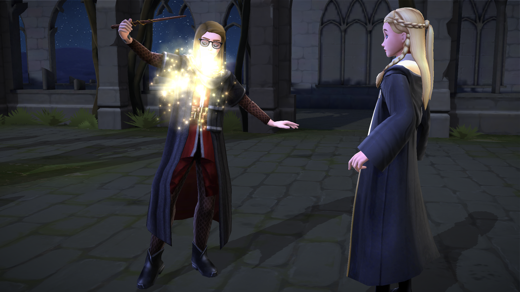 Hogwarts Mystery Spell