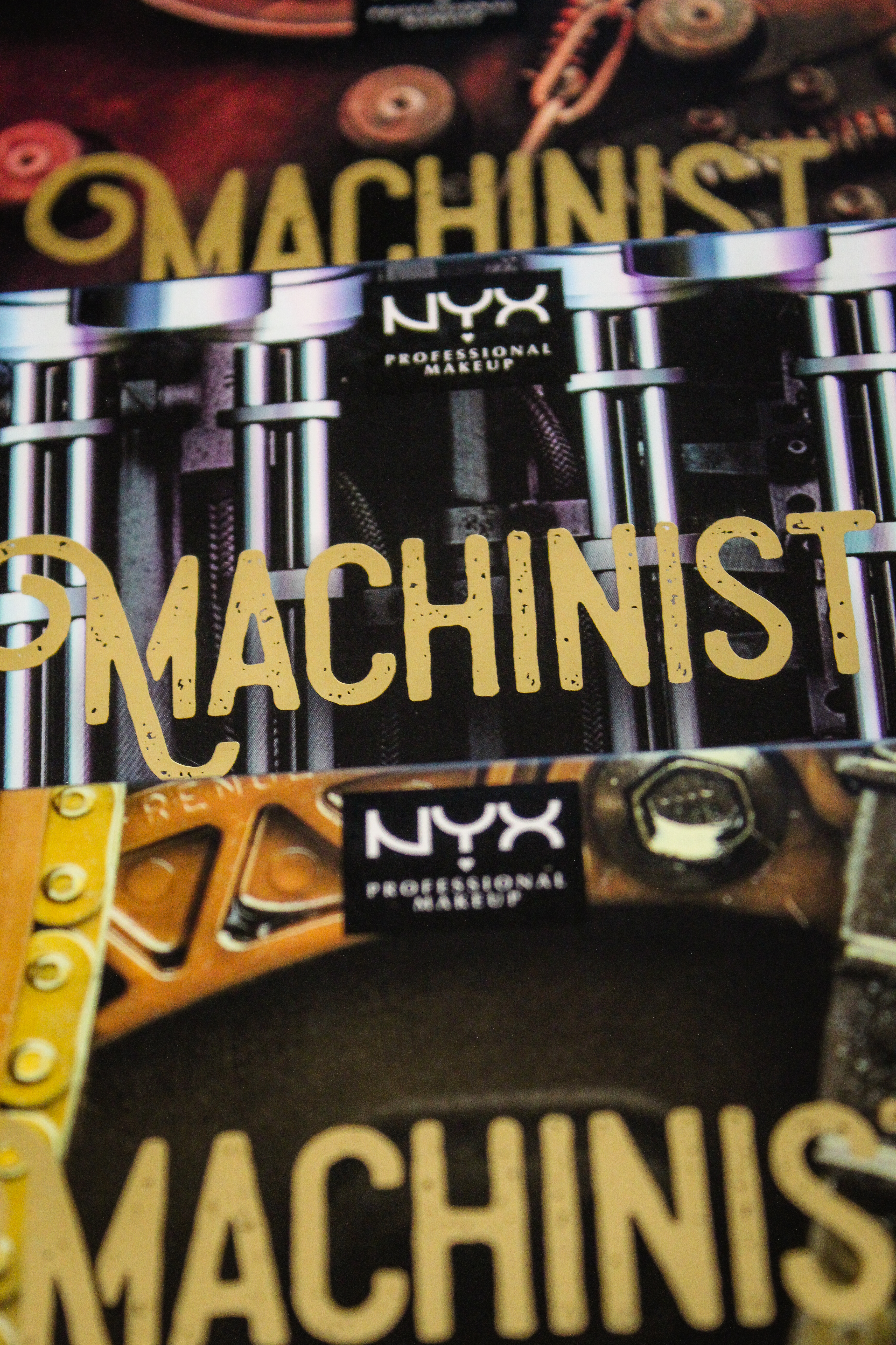 NYX Machinist Collection 3