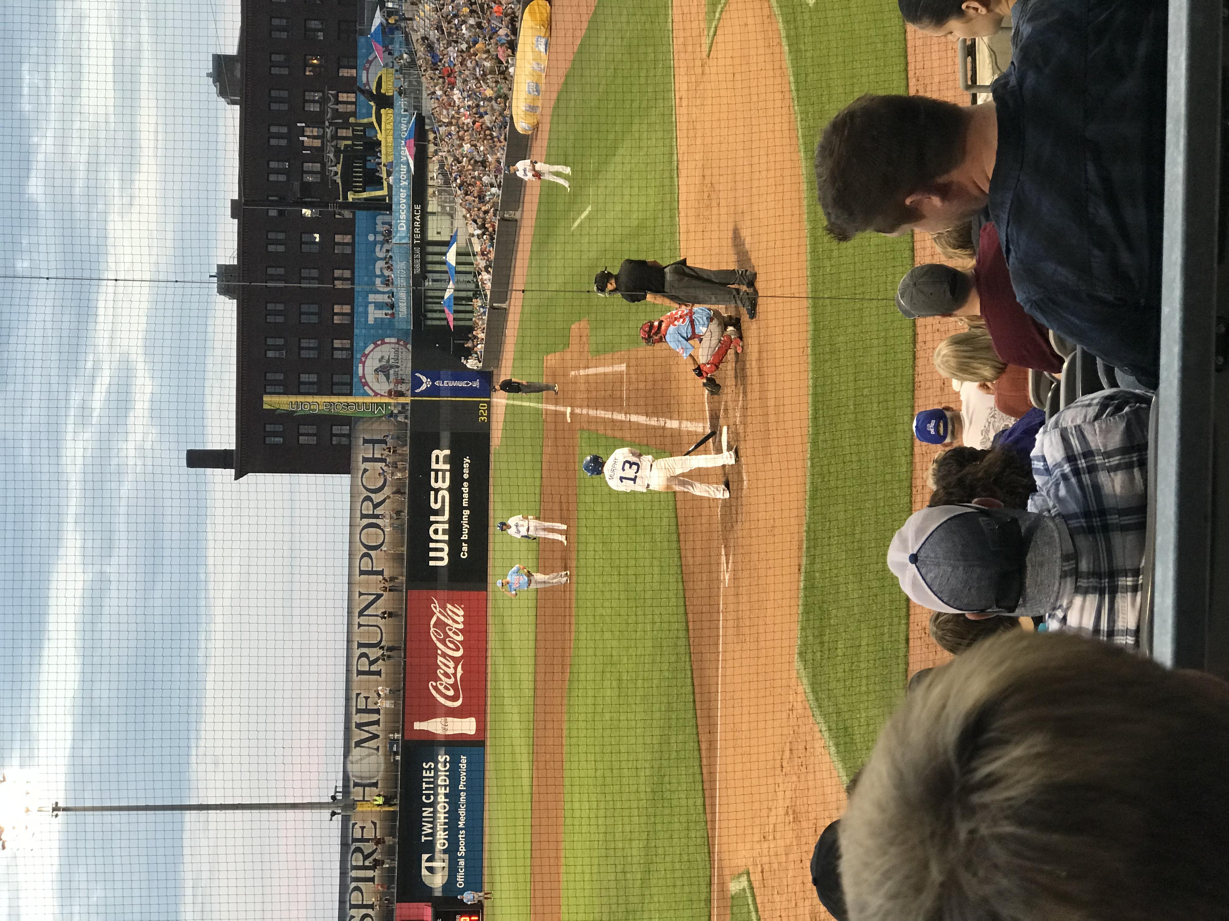 Saints vs Chicago Dogs Baseball