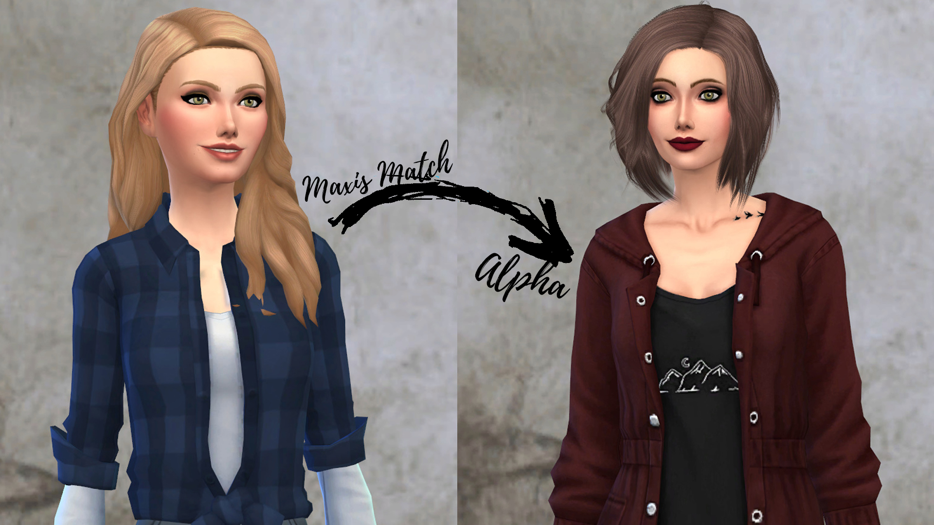 Sims 4 Maxis Match to Alpha CC Mae Polzine.jpg