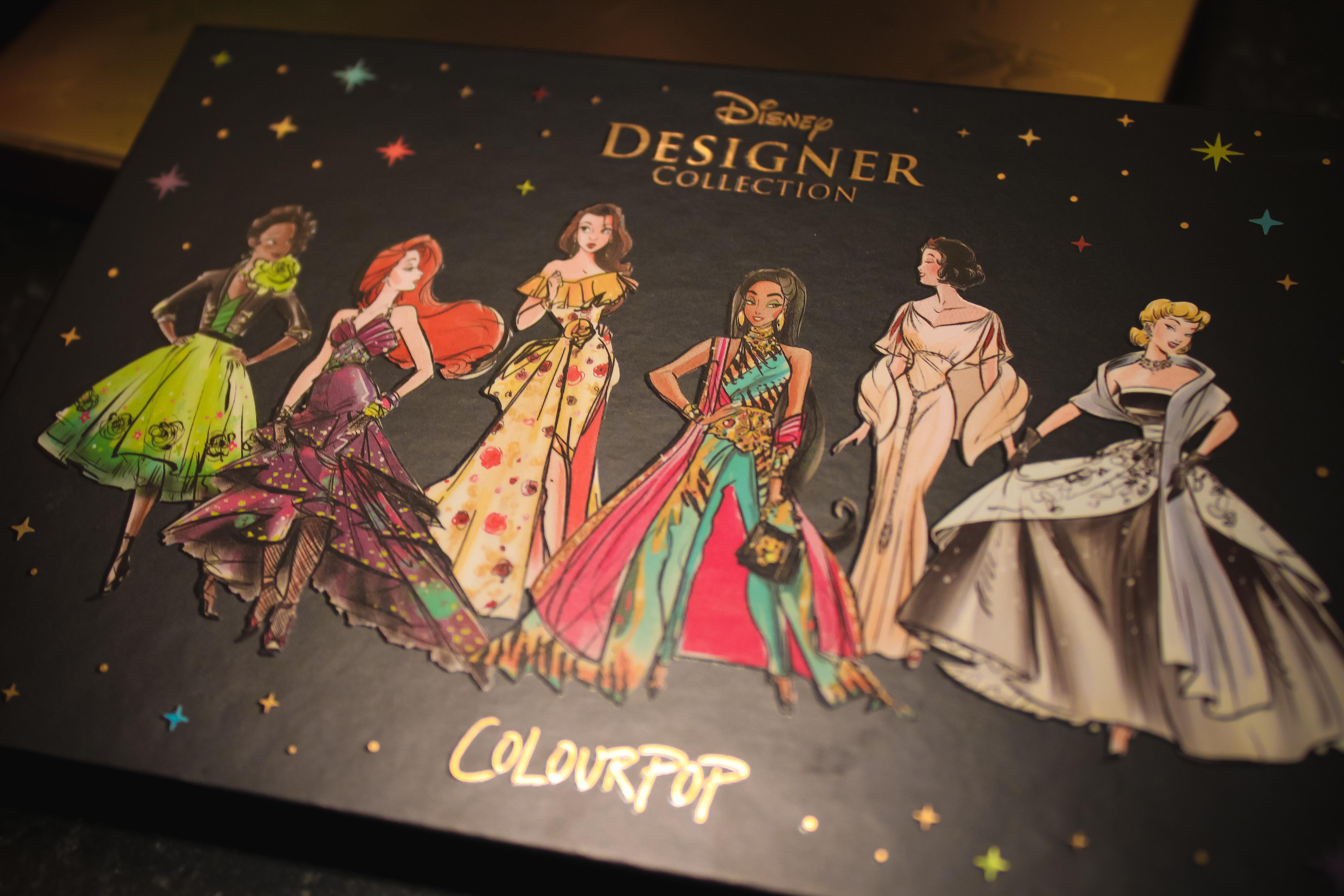 Colourpop x Disney Designer Collection Palette 5