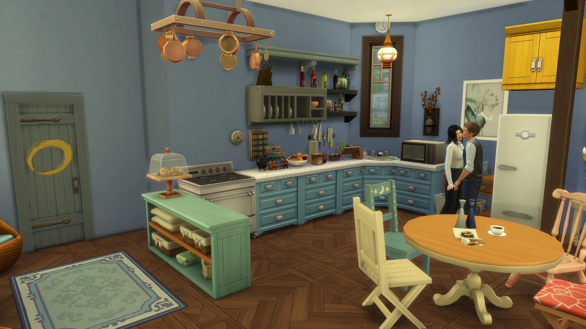 Friends Apartment Sims 1