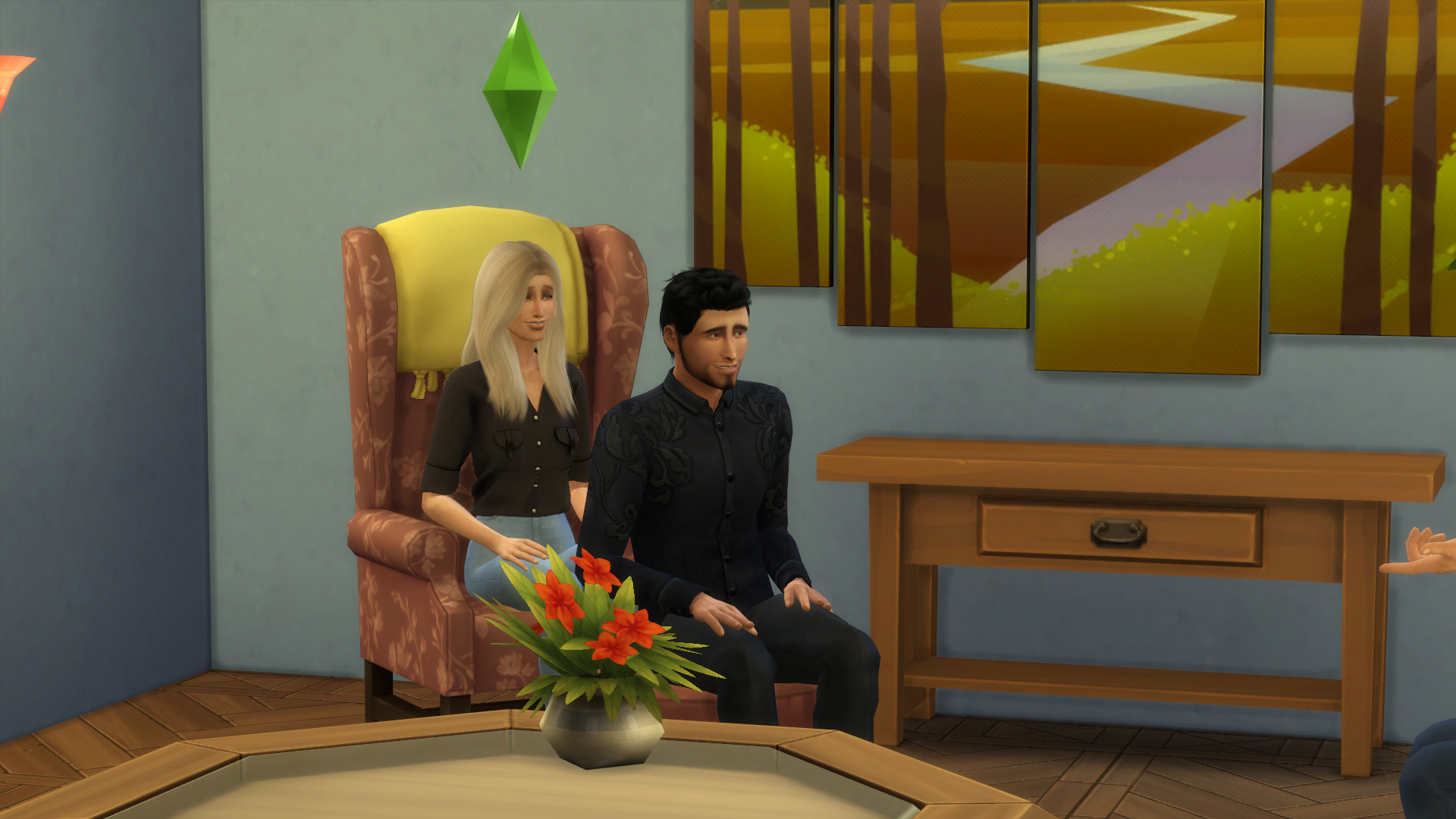 Friends Apartment Sims 12