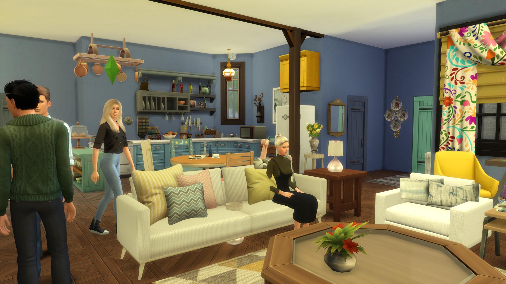 Friends Apartment Sims 4