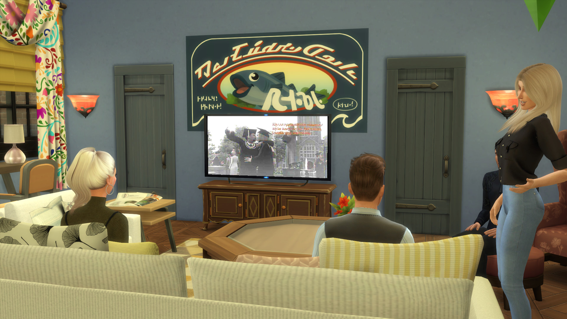 Friends Apartment Sims 9