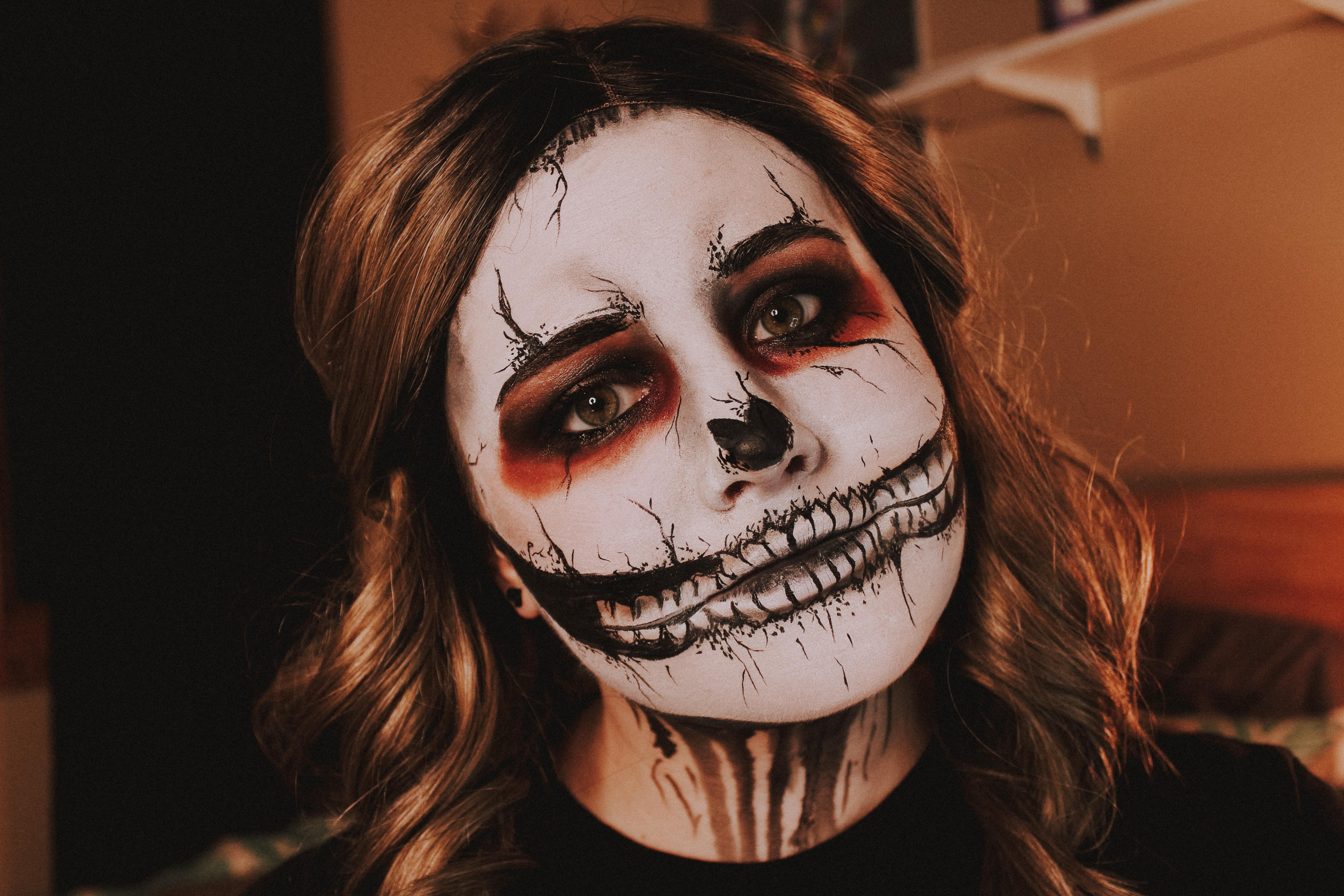 Grunge Skull Makeup 3