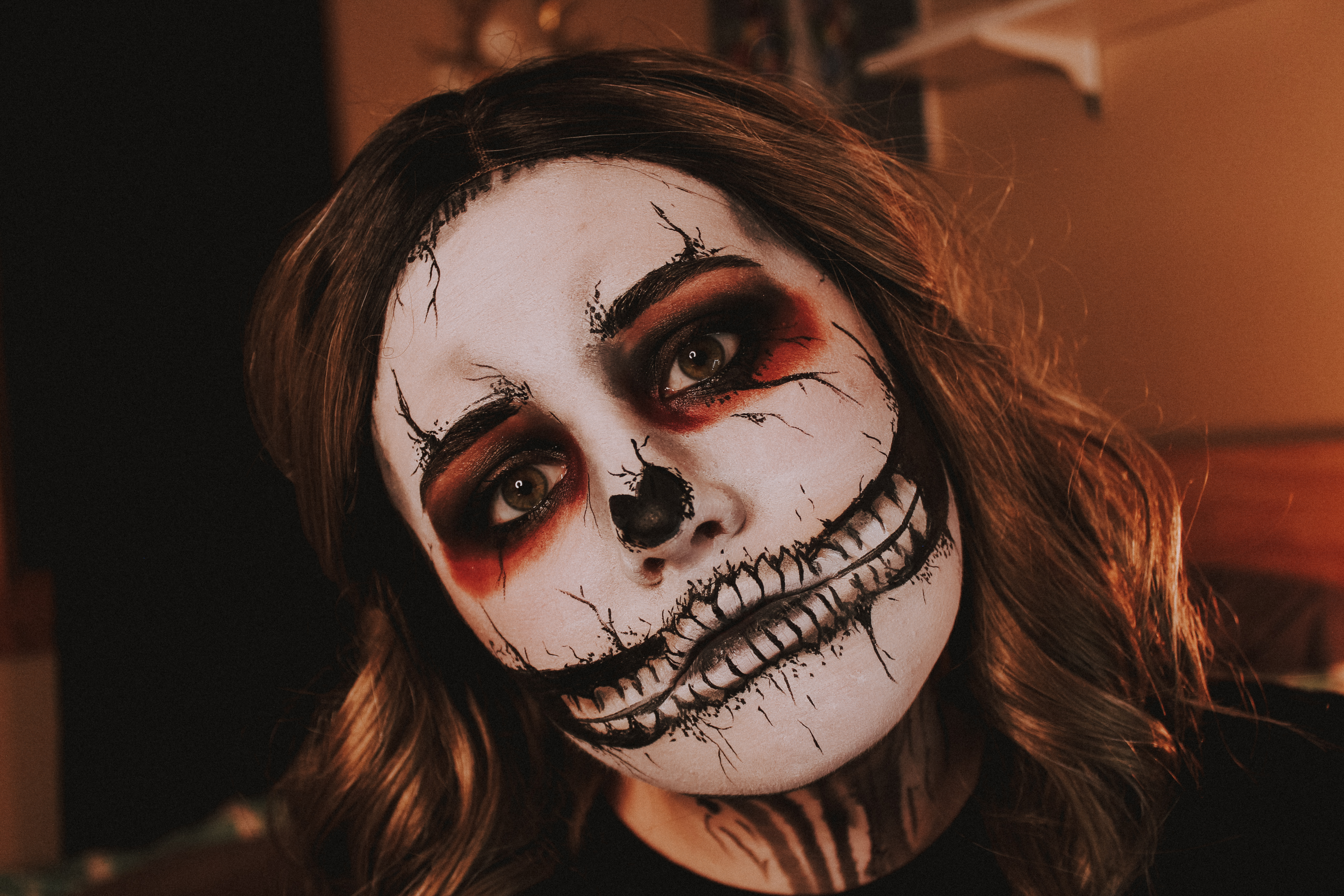 Grunge Skull Makeup 4