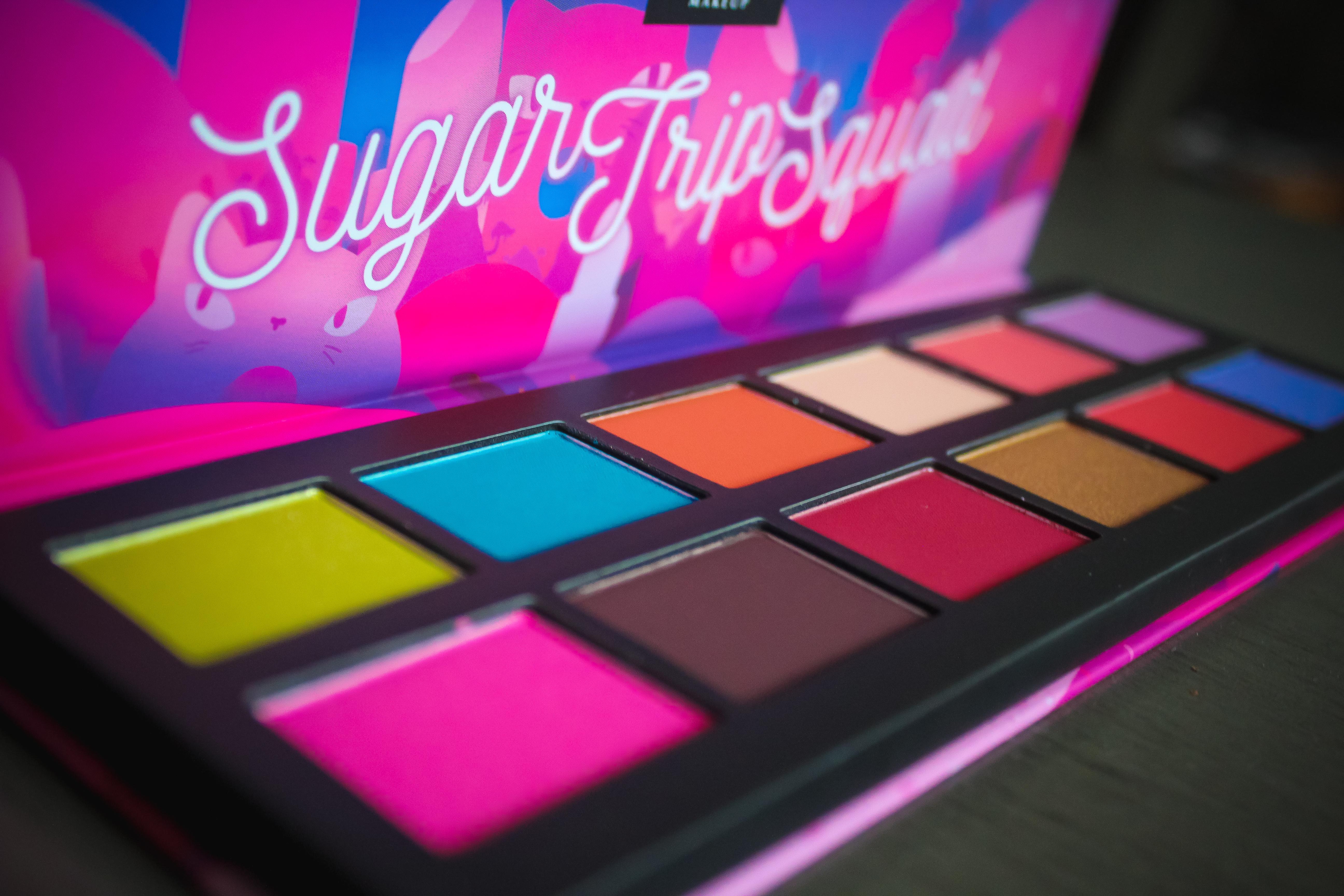 NYX Sugar Trip Squad Palette 2