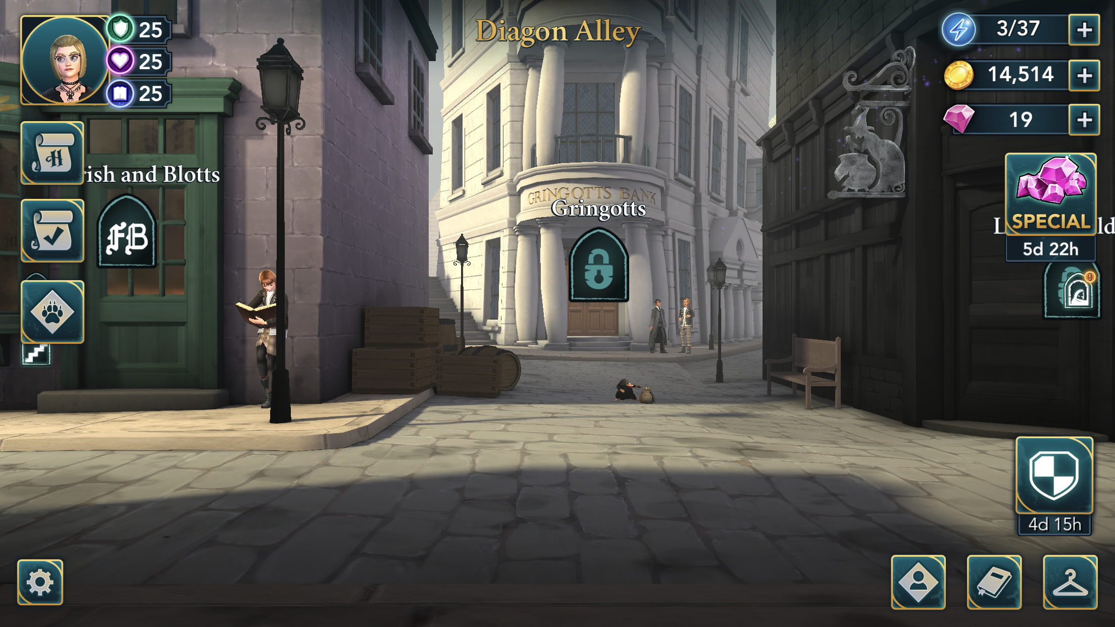 Hogwarts Mystery Diagon Alley